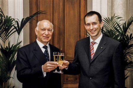 Gabriel Deibener et Pit Hentgen