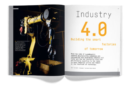 Happen magazine Industry 4.0
