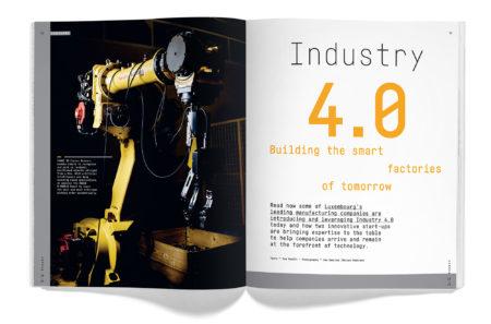 Happen magazine Industry 4.0