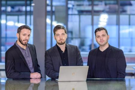 Cédric Alfonsi, Rémy Bertot, Kevin Muller, Passbolt's cofounders