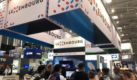 Luxembourg stand at Transport Logistic 2019