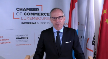 Chamber of Commerce chairman Luc Frieden opens Luxembourg's digital trade mission to China