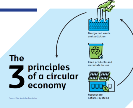 The 3 principles of the circular economy