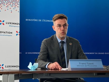Minister of the Economy Franz Fayot presents the Luxinnovation 2020 Annual Report