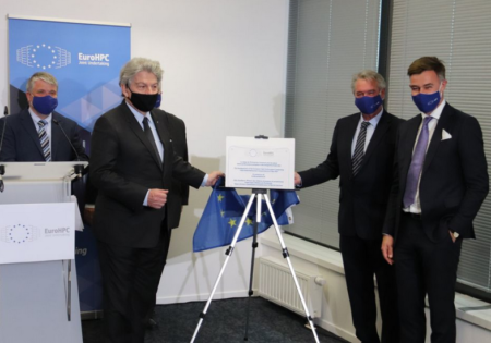 Inauguration of the EuroHPC headquarters in Luxembourg