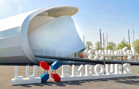 Luxembourg pavilion at Expo 2020 Dubai