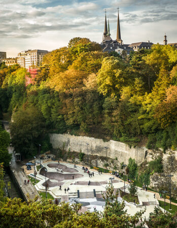 Skatepark in Luxembourg City
