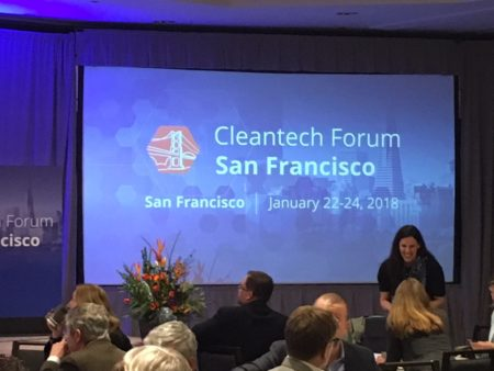 Opening words Cleantech forum San Francisco