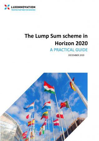 The Lump Sum scheme in Horizon 2020