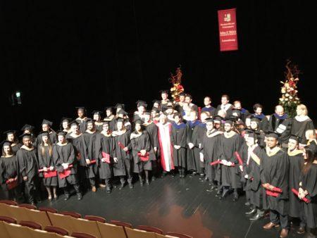 Graudation Sacred Heart University