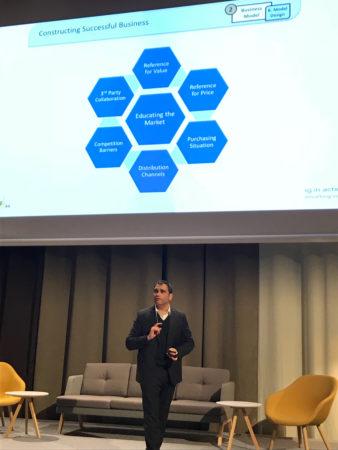 Rami Goldratt presenting TOC theory