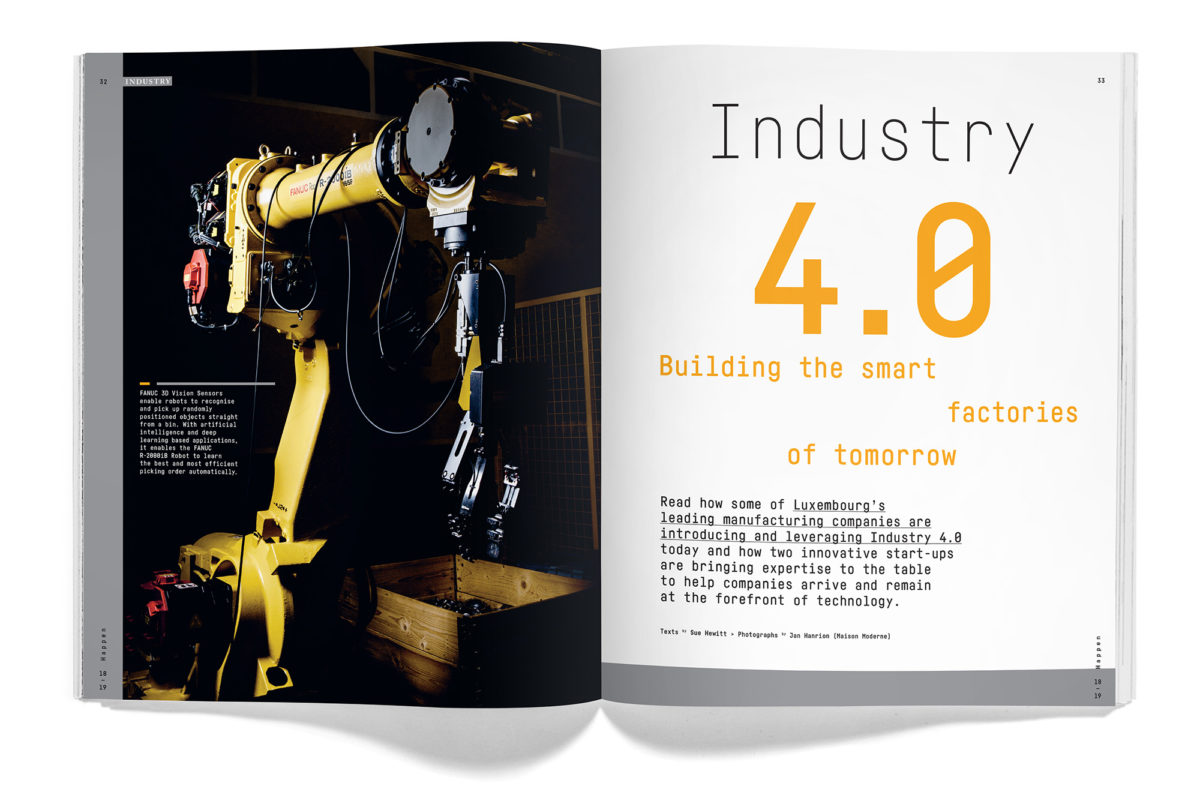 New Happen magazine highlights Industry 4.0