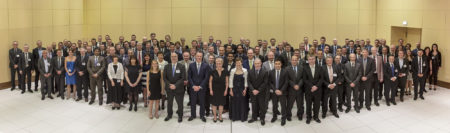 Goodyear Patent Dinner group photo